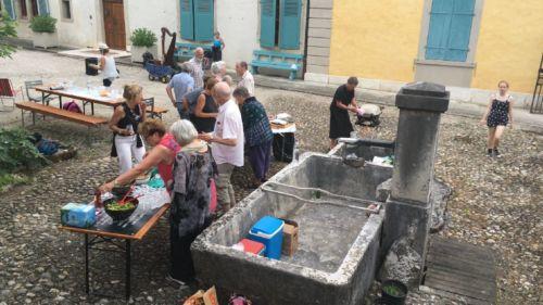 Fontaine Micheli depuis 1819