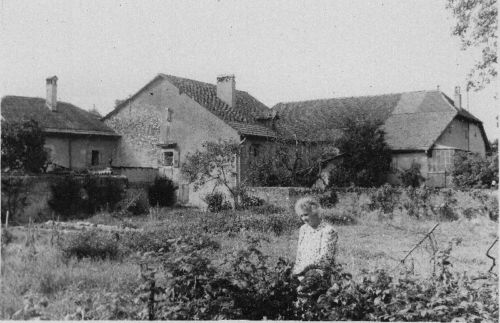 1921-23 (avant) Landecy Chemin de la Moëtte Jardin (01)